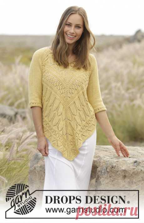 Пуловер Golden Summer - блог экспертов интернет-магазина пряжи 5motkov.ru
