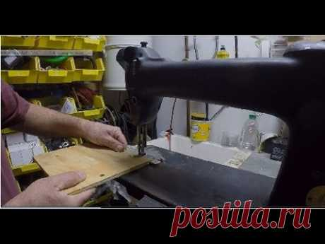 Превращение моей швейной машины в лобзик для резки фанеры