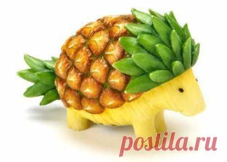 Забавные фруктовые шедевры