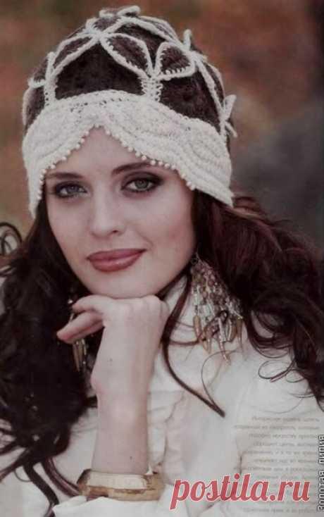 Вязаные шапочки для женщин + схемы   razpetelka.ru