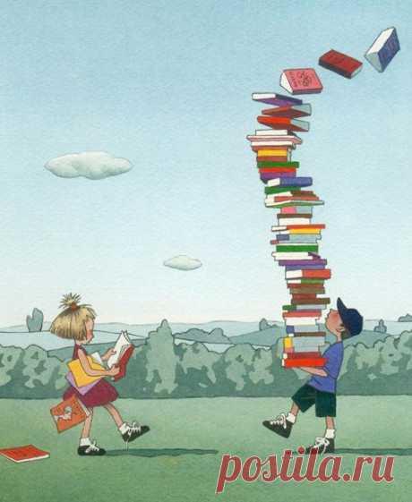 УЛОВКИ, КОТОРЫЕ ПОМОГУТ ПОЛЮБИТЬ ЧТЕНИЕ Как помочь ребёнку распробовать художественную литературу, даже если он к ней равнодушен. Мне думалось, что любовь к чтению — дело наследственное, но в итоге у меня растут очень разные дети. Старшая дочка и младший сын тянулись к книгам с пелёнок, а средний сын, первоклассник, до школы не читал ничего длиннее инструкции к Лего и описания оригами. Я убеждена, что художественную литературу надо распробовать. Мы в семье придумали уловки, которые помогут…