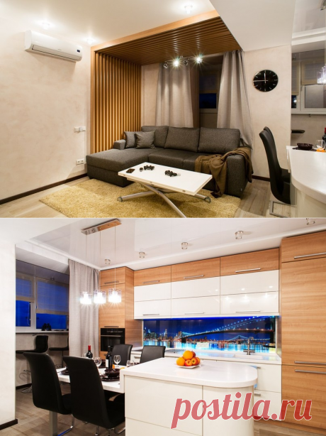The realized project in St. Petersburg - Interior design | Ideas of your house | Lodgers