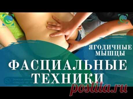 Ягодичные мышцы. ФАСЦИАЛЬНЫЕ ТЕХНИКИ В МАССАЖЕ. Татьяна Яковлева - YouTube
