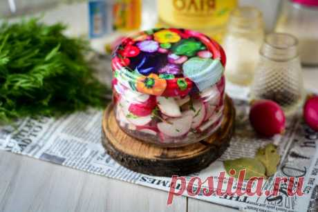 Салат из редиски на зиму - пошаговый рецепт с фото на Повар.ру