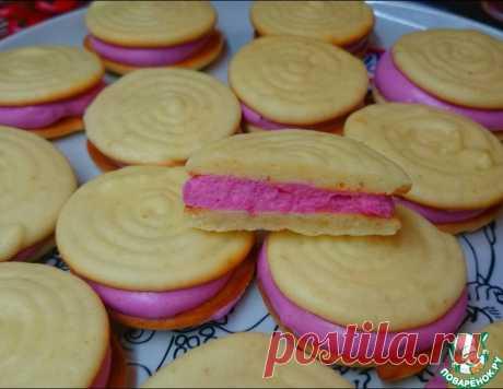 Суфле из варенья и мягкое печенье  на сметане