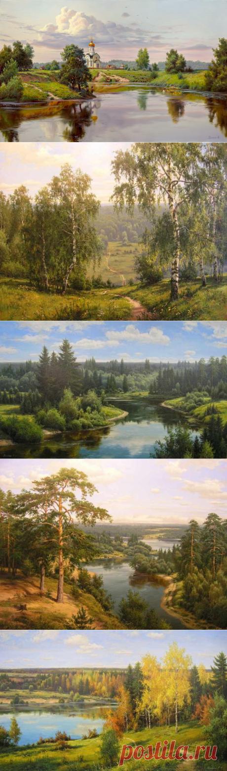 Очарование русского пейзажа в творчестве И. Прищепы