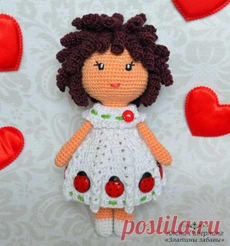 Вязаная куколка Зара: мастер-класс крючком   AmiguRoom