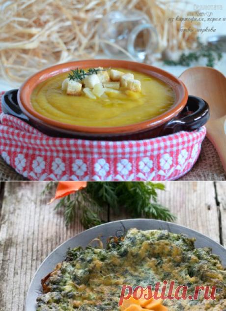 Веллютата из картофеля, порея и ботвы моркови | ИТАЛЬЯНСКАЯ КУХНЯ