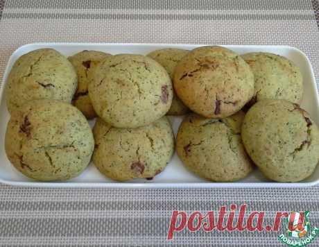 Мятное печенье с шоколадом – кулинарный рецепт