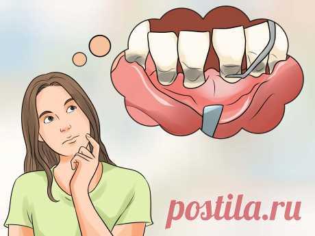 Как остановить зуд десен