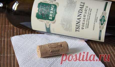 Белое сухое вино Цинандали из Грузии - цены и отзывы