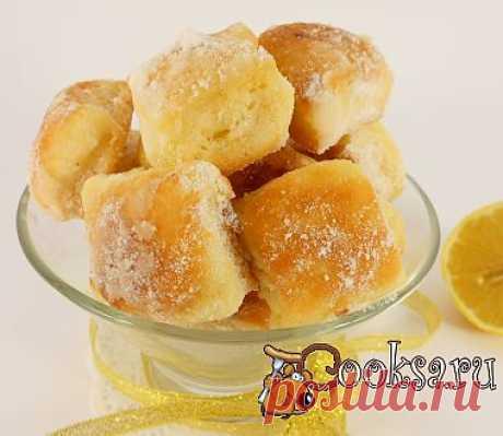 Лимонные подушечки рецепт с фото