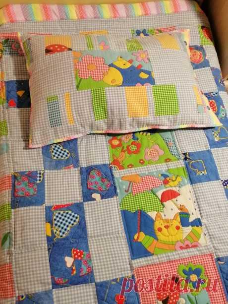 Новое детское одеялко из старого детского белья? Легко!   Рукодельный выпендрЁж   Яндекс Дзен