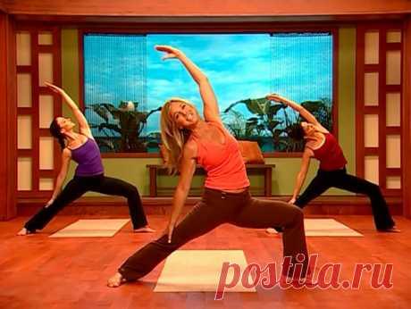 Йога для похудения с Дениз Остин -2.