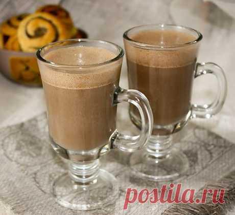 Какао флип со сливками - Kulinarnyj-Recept.��