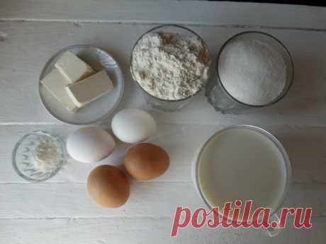 Рецепт «Заливного теста» - готовлю из него пироги: всегда быстро, а выпечка очень пышная - Пир во время езды