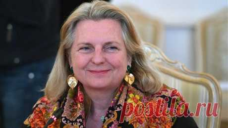 экс-глава МИД Австрии Карин Кнайсль