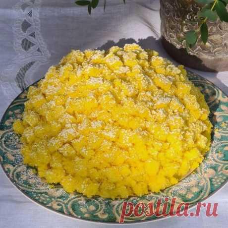 Рецепт итальянского десерта «Мимоза» от Александра Селезнева
