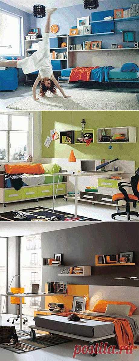 6 модных комнат для подростка.