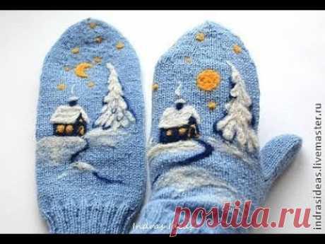 Вязаные Варежки - 2019 / Knitted Mittens / Strickhandschuhe / Guanti a maglia