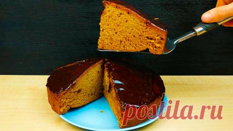 Если есть дома варенье и чай, готовлю быстрый пирог (дёшево и вкусно получается). Без яиц и молочных продуктов   Кулинарный Микс   Яндекс Дзен