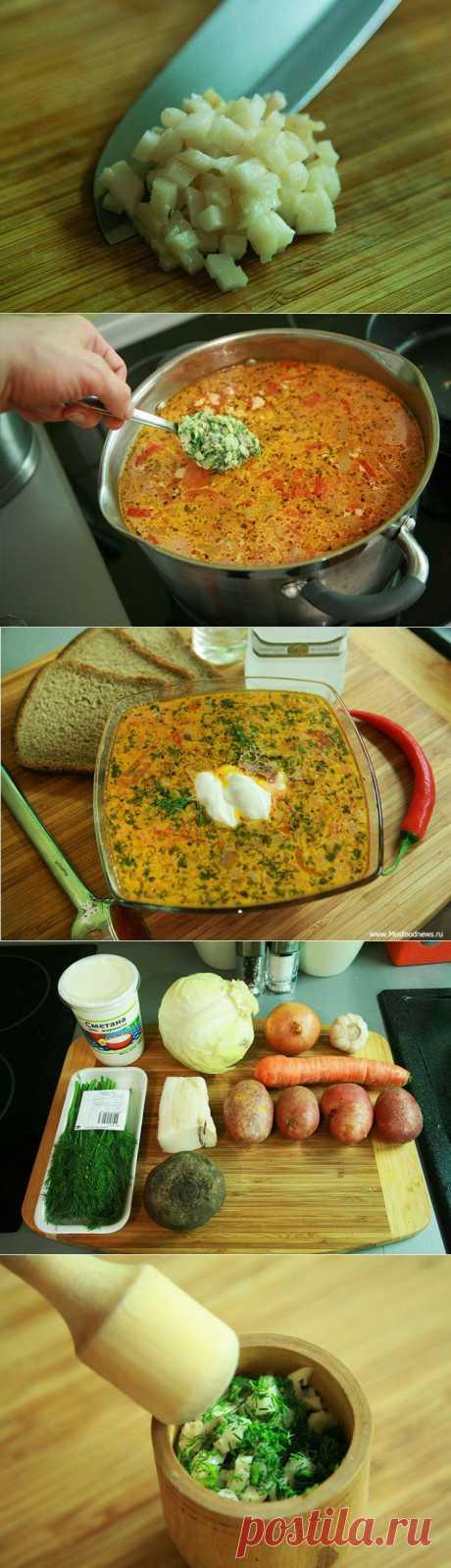 Полтавский борщ рецепт с фото
