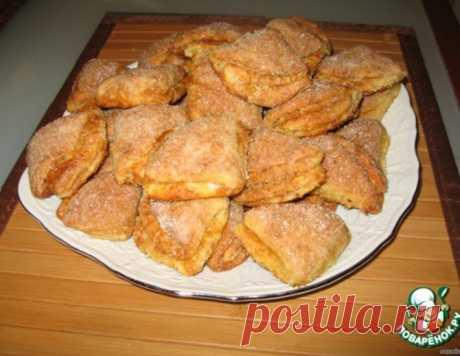 Творожное печенье – кулинарный рецепт