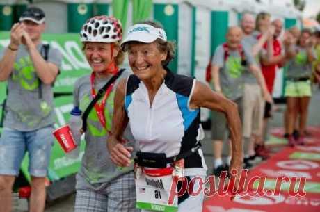 «Железная монахиня» триатлона IronMan МАДОННА Будер отмечает 91-летие Прозвище «Железная монахиня» было дано Мадонне Будер совершенно справедливо. У Будер есть текущий мировой рекорд самой старой женщины, когда-либо окончившей Ironman Triathlon, который она получила в 82 года, завершив Subaru Ironman Canada 26 августа 2012 года. В возрасте 89 лет, самый старший участник гонки, Будер финишировала... Читай дальше на сайте. Жми подробнее ➡