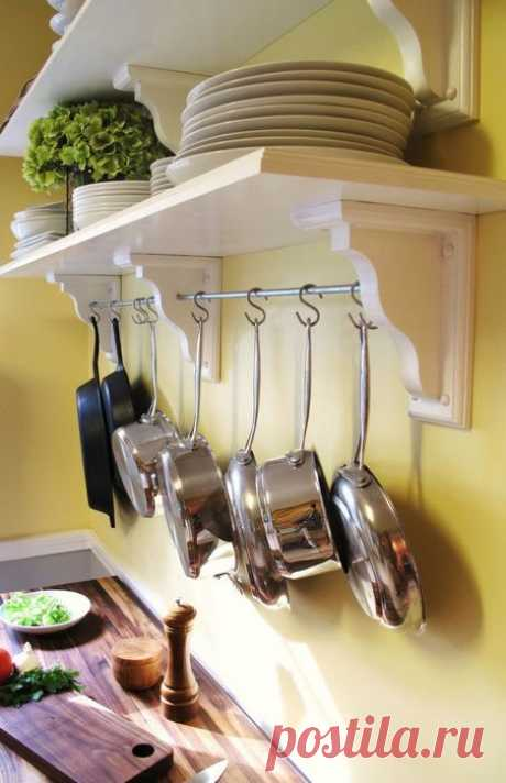 Удобные системы хранения на кухне: 20 классных идей, которые пригодятся каждому