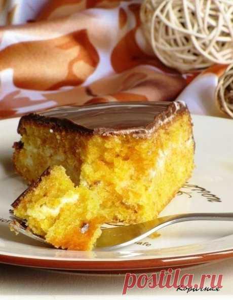 Как приготовить морковный торт осенний поцелуй - рецепт, ингридиенты и фотографии