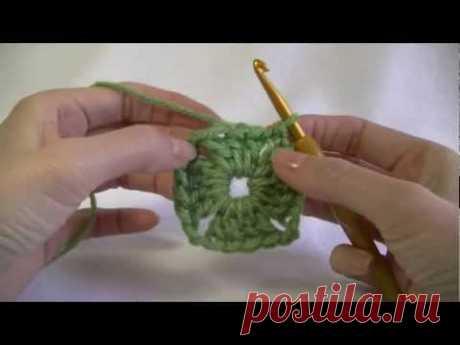Semi Solid Square Crochet Tutorial