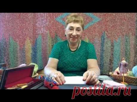 Надо знать, как начать... Мастер-класс по вязанию крючком от О. С. Литвиной.