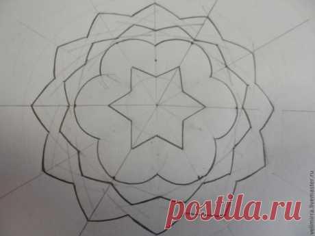 Деление окружности, или Геометрия для чайников - Ярмарка Мастеров - ручная работа, handmade