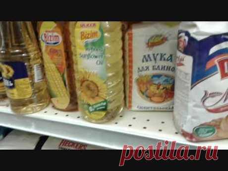 Русский магазин в США. Цены на продукты.