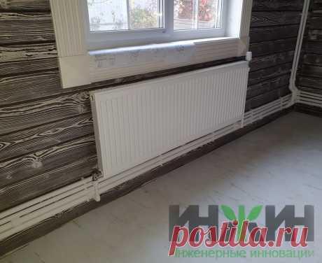 Монтаж отопления в деревянном доме, фото 797
