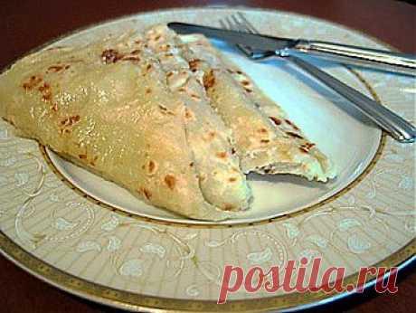 Чеченские блины  - Блины, блинчики   . 1001 ЕДА вкусные рецепты с фото!