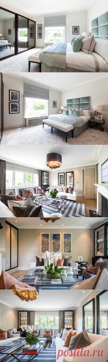 〚 Великолепная квартира в Лондоне 〛 ◾ Фото ◾Идеи◾ Дизайн