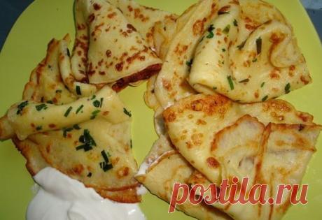 Тонкие картофельные блины — Такого вы еще не пробовали | Naget.Ru