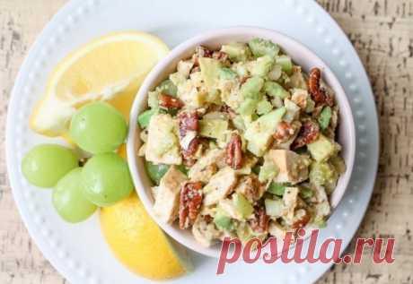 Салат с курицей и авокадо — Sloosh – кулинарные рецепты
