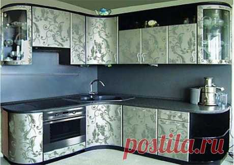 Как обновить кухонный гарнитур: 3 способа преобразить старую  на кухне | ВСЁ ДЛЯ ДОМА