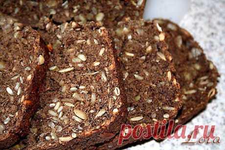 Кулинарная страничка: Хлеб из нескольких видов муки с орехами и семечками