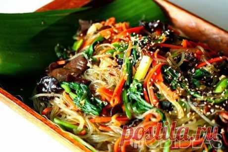 Фунчеза салат с овощами по-корейски: рецепт с фото в домашних условиях - рецепт приготовления с фото