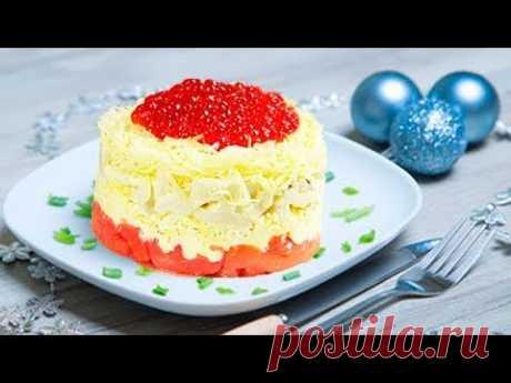 3 САЛАТА, которые я обязательно готовлю на новогодний стол! Салат Цезарь, Тбилиси и Сытый Боцман