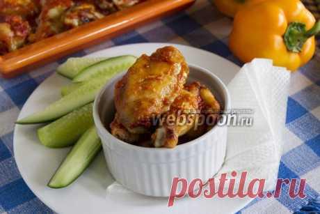 Крылышки в томатно-чесночном соусе рецепт с фото, как приготовить на Webspoon.ru