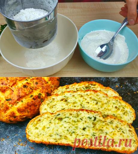 Как я готовлю хлеб без дрожжей: не только быстро, но и вкусно получается