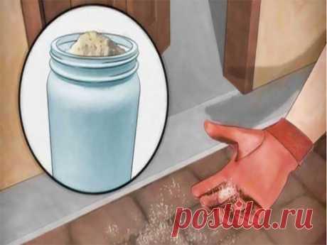 ВОТ ЗАЧЕМ РАССЫПАТЬ СОЛЬ ПРЯМО НА ПОРОГЕ! ВЫ ТОЖЕ НАЧНЕТЕ ЭТО ДЕЛАТЬ! Возможно, вам это покажется странным, но соль издревле применяется как чистящее средство. Соль — отличное вещество для дезинфекции и чистки разных