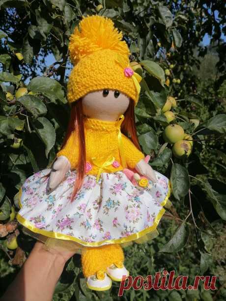 Hand-made товары: текстильная куколка. купить у мастера без наценок!