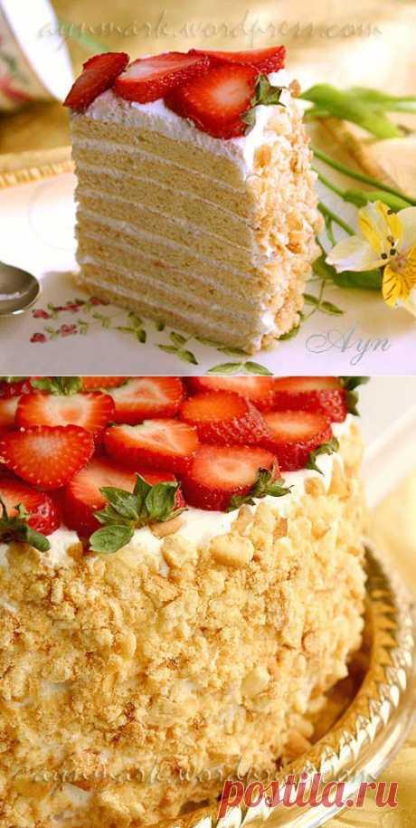 Творожно-сметанный торт | Мои Кулинарные Зарисовки