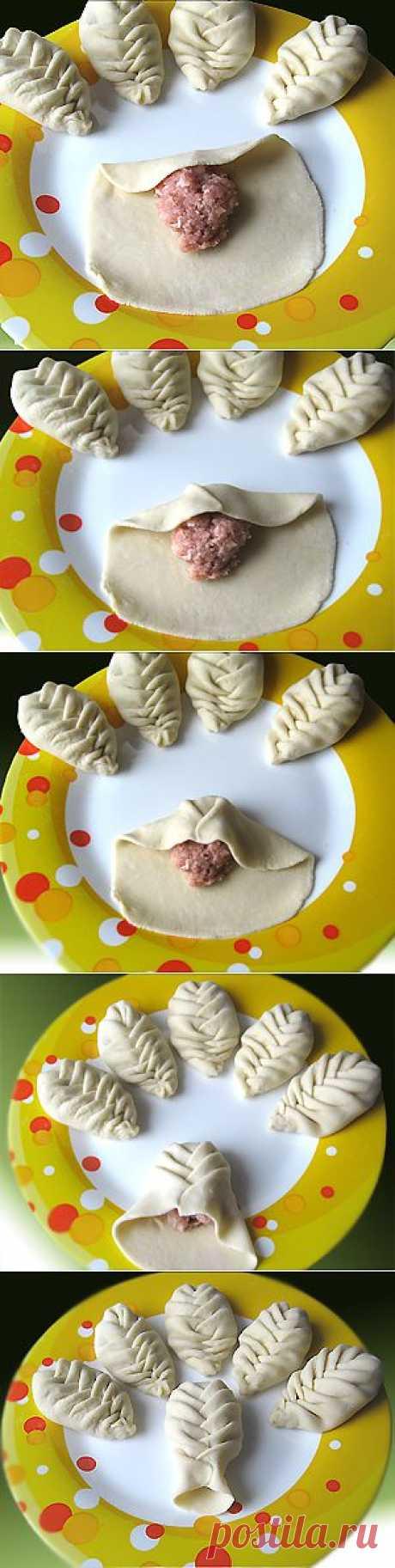 Как запеленать пельмени и пирожки?.
