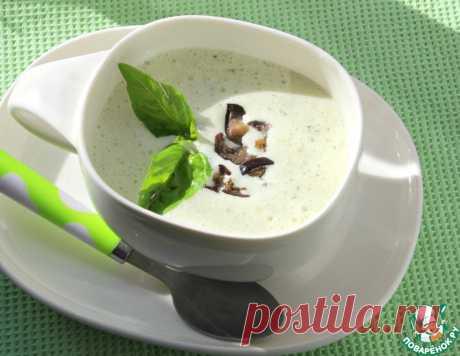Нескучный холодный суп с баклажанами – кулинарный рецепт